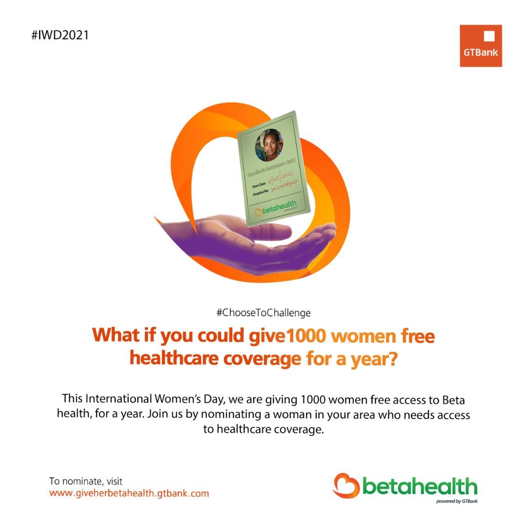 #GiveHerBetaHealth