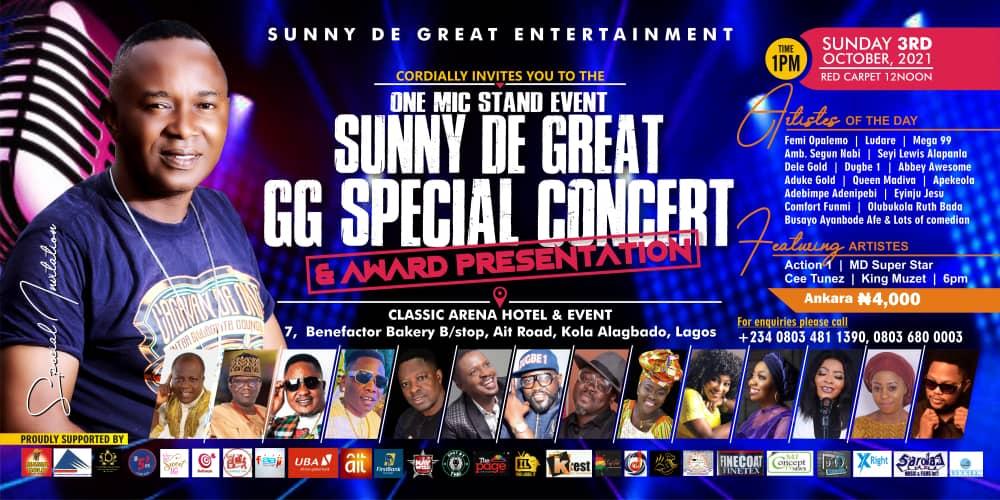 Sunny de Great Entertainment